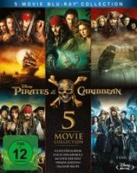 : Fluch der Karibik Movie Collection (5 Filme) German AC3 microHD x264 - RAIST